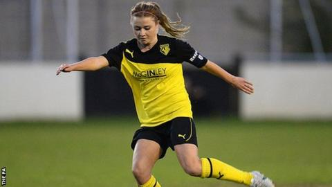 Striker Sarah Wiltshire