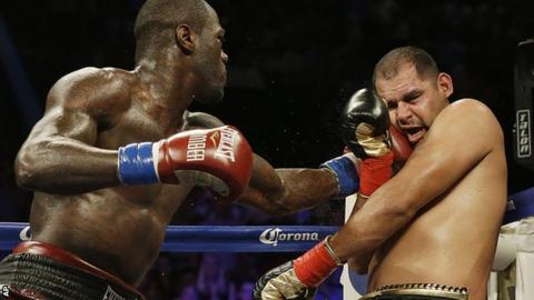 Deontay Wilder against Eric Molina