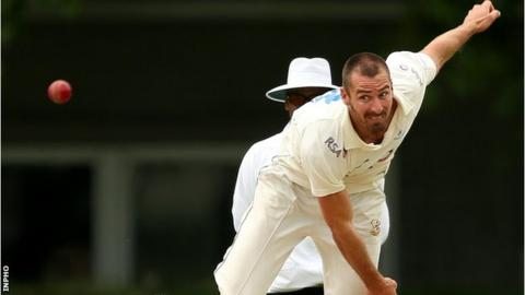Max Sorensen claimed four wickets at Rathmines on Sunday
