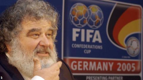 Former Fifa executive Chuck Blazer