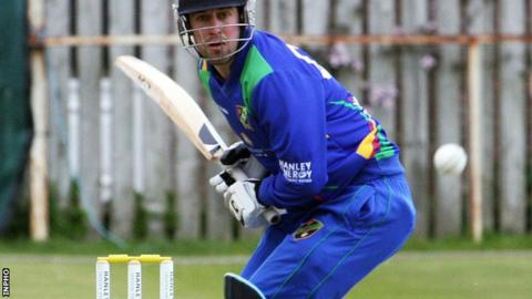 David Rankin in action for the North West Warriors last month