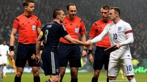 Scotland v England last year