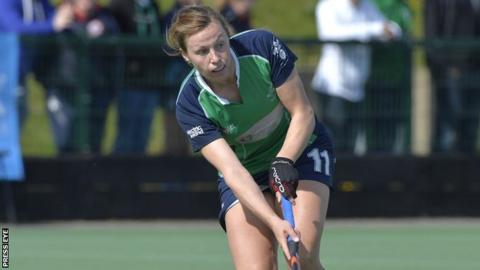 Ireland captain Megan Frazer