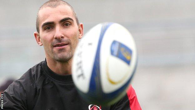 Ruan Pienaar will make his 100th Ulster appearance against Leinster