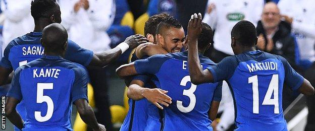 France beat Cameroon 3-2 on Monday