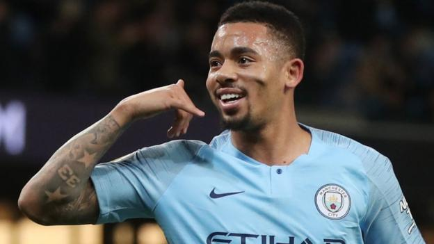 Manchester City 3-0 Wolves: Gabriel Jesus scores twice as City narrow gap on Liverpool thumbnail