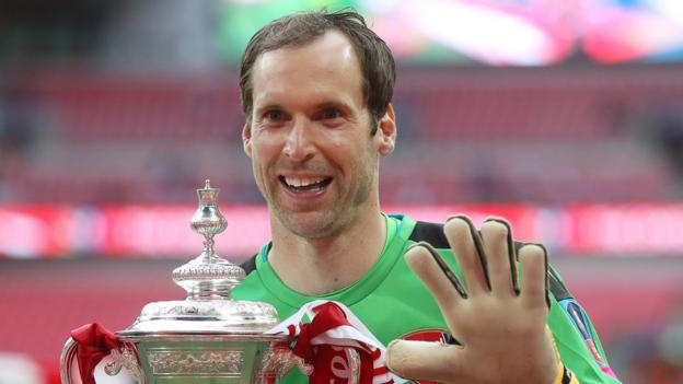 179c0b57a2b Petr Cech: Arsenal keeper to retire at end of season - BBC Sport