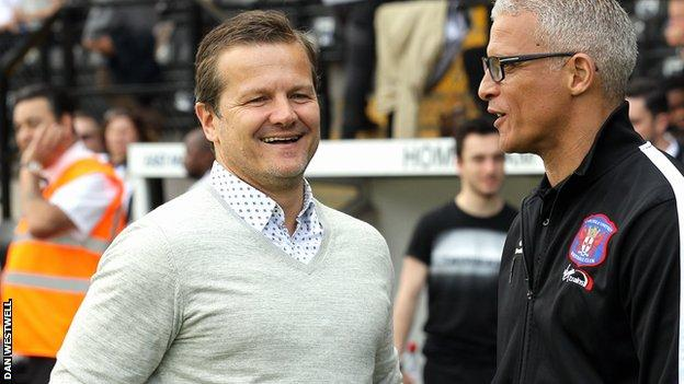 Mark Cooper and Keith Curle