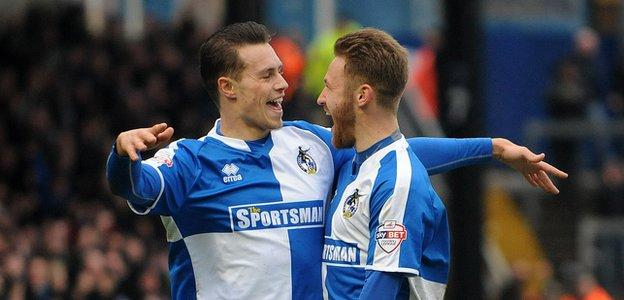 Billy Bodin (left) and Matty Taylor