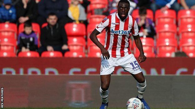Stoke City defender Bruno Martins Indi
