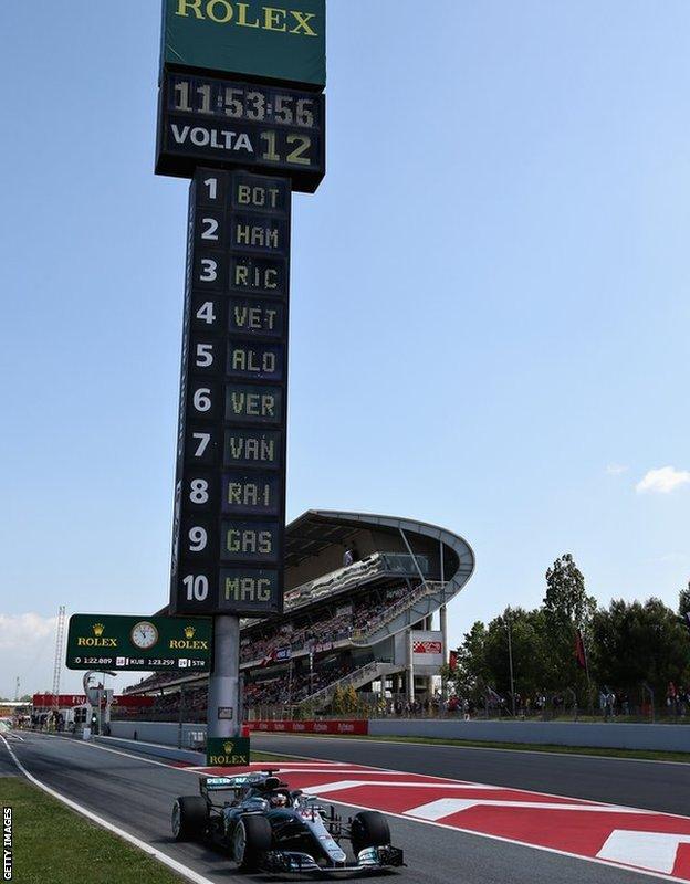 Lewis Hamilton of Mercedes
