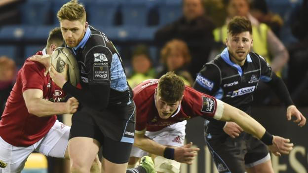 Glenn Bryce scored the decisive fourth try for the reigning Pro12 champions