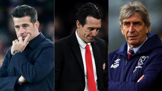 Premier League: Marcos Silva, Unai Emery and Manuel Pellegrini under pressure thumbnail