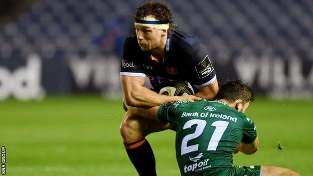 Hamish Watson and his fellow forwards were dominant for Edinburgh