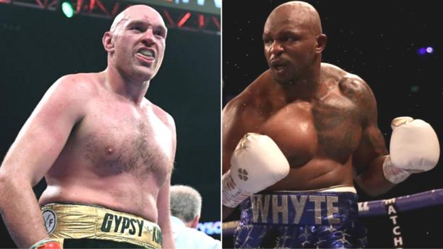 Tyson Fury and Dillian Whyte keen on all-British heavyweight bout thumbnail