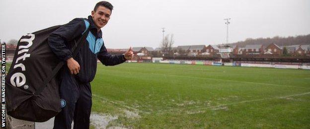 Wycombe Wanderers midfielder Luke O'Nien