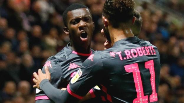 Preston North End 1-1 Leeds United: Eddie Nketiah scores late equaliser for Leeds - BBC Sport