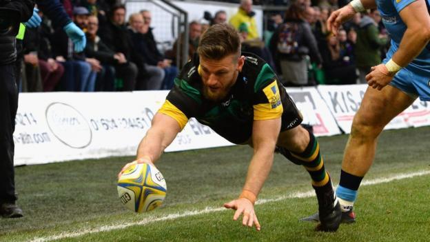Premiership northampton saints 25 17 london irish bbc sport - English rugby union league tables ...