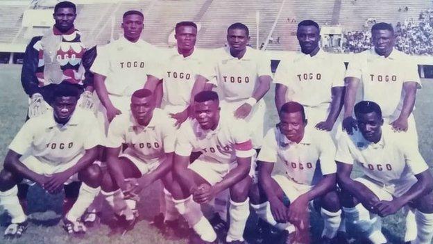 Nibombe Wake with the Togo team