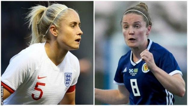 Steph Houghton and Kim Little