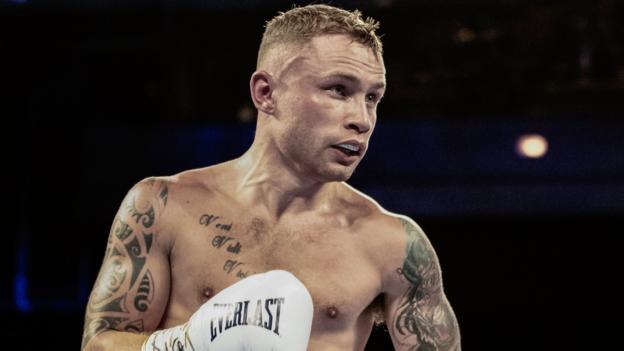 Carl Frampton: Belfast venues in tug-of-war over Jamel Herring world title fight