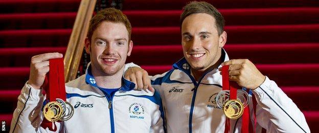 Dan Purvis and Dan Keatings