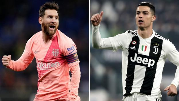 b496992a97cc Cristiano Ronaldo challenges Lionel Messi to join him in Serie A ...