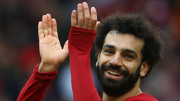 Better than Aguero, Torres and van Nistelrooy? Mohamed Salah reaches goals landmark in Liverpool win