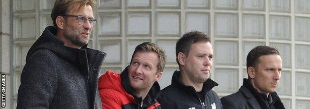 Jurgen Klopp & Michael Beale