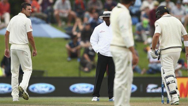 Australian bowler Josh Hazlewood