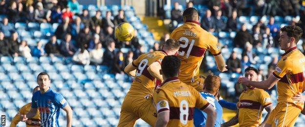 Zak Jules rises highest in the box to power home a header that gave Well all three points