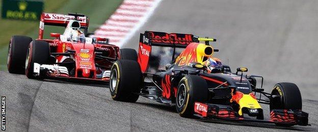 Max Verstappen & Sebastian Vettel