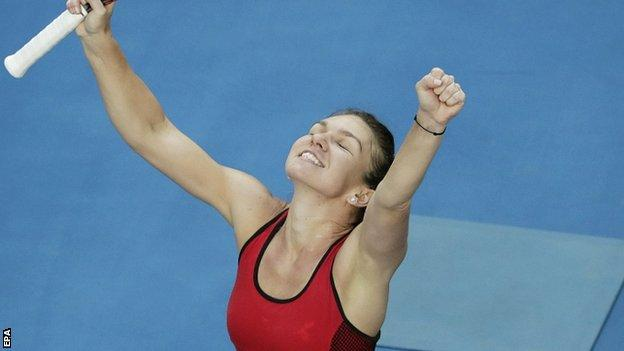 Simona Halep won in 79 minutes