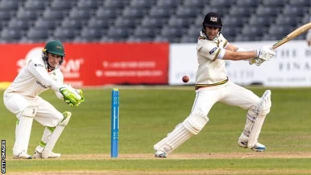 Ian Cockbain in action for Gloucestershire