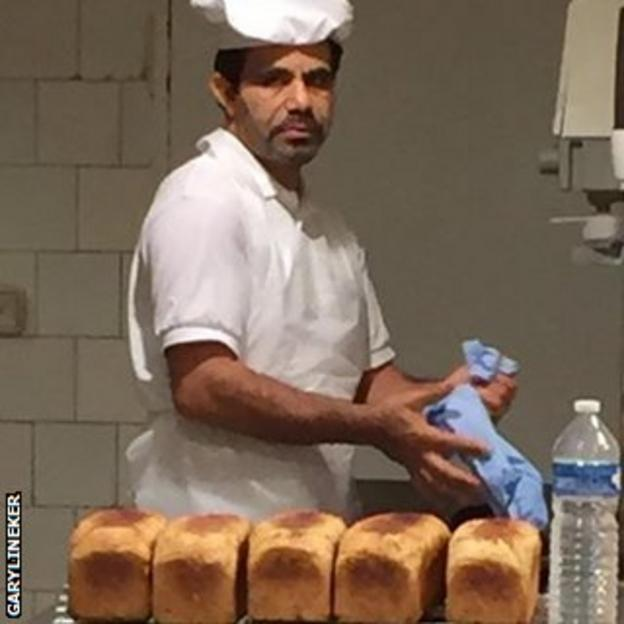 Gary Lineker's local baker