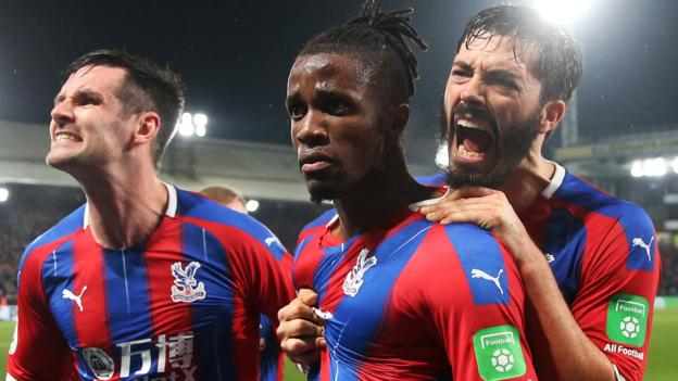 Crystal Palace 1-1 Brighton & Hove Albion: Wilfried Zaha rescues Palace point thumbnail