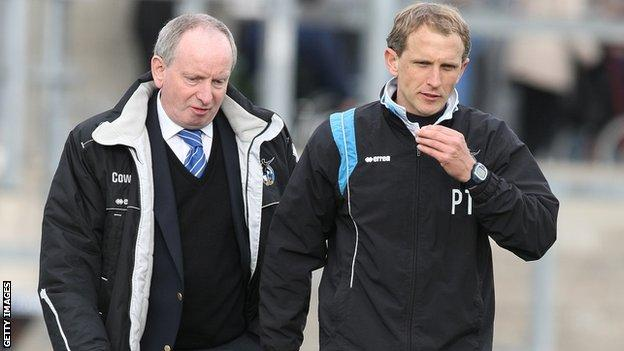 Lennie Lawrence and Paul Trollope