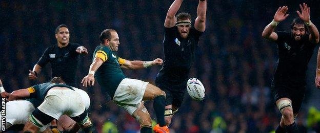 South Africa v New Zealand