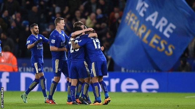 Leicester need 17 points from their final seven games to guarantee the title