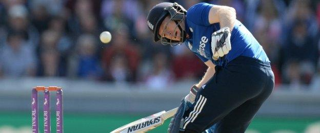 Eoin Morgan had made just one when he was forced to retire hurt