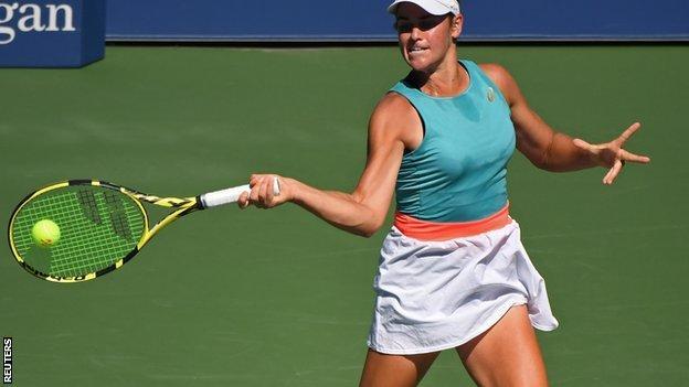 US Open 2020: Jennifer Brady beats Angelique Kerber to ...