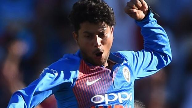 102504800 p06dl9kp - England v India: File-breaking Kuldeep Yadav bamboozles hosts