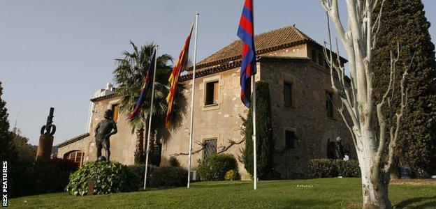 Barcelona's fabled La Masia academy