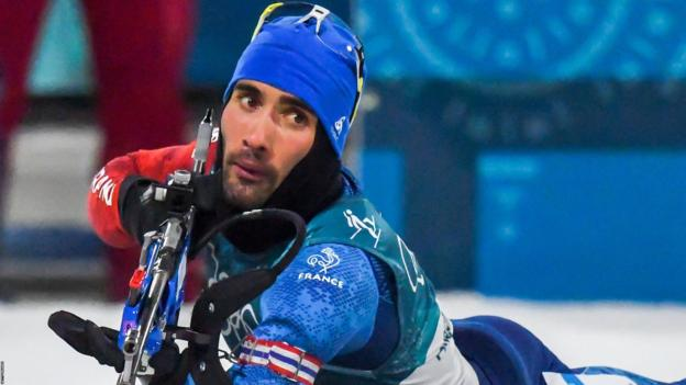 Winter Olympics: Frenchman Martin Fourcade becomes first man to defend biathlon pursuit title