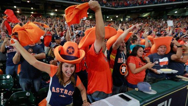 Houston Astros fans