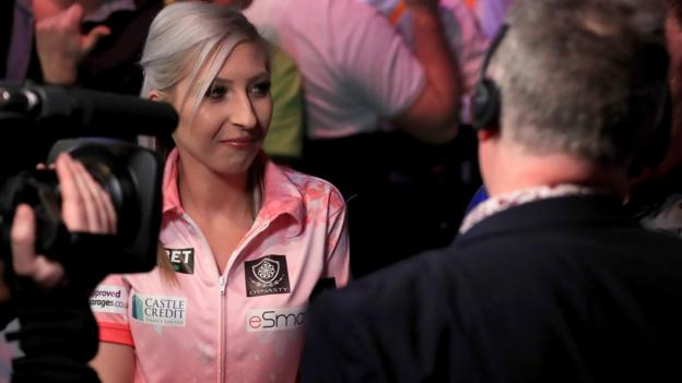 Premier League Darts: Fallon Sherrock says her gender is no longer a topic of conversation