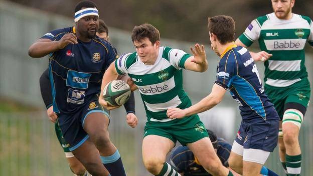 Guernsey raiders have table topping potential says scrum half adam nixon bbc sport - English rugby union league tables ...