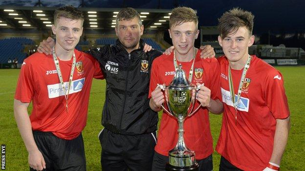 County Antrim won the Premier Milk Cup final on 31 July
