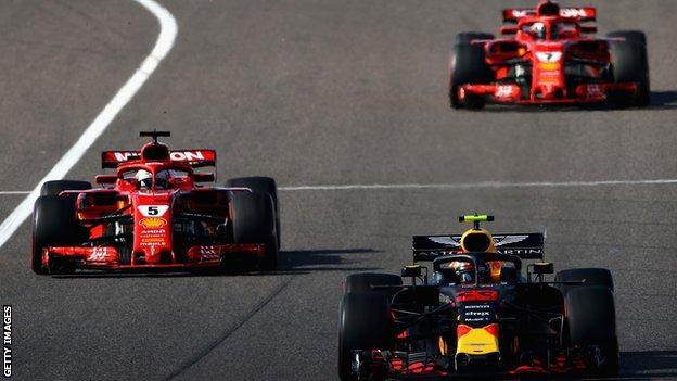 Vettel and Verstappen