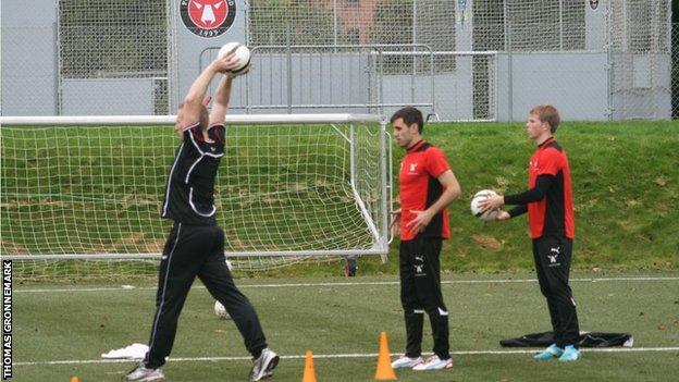 Liverpool throw-in coach Thomas Gronnemark
